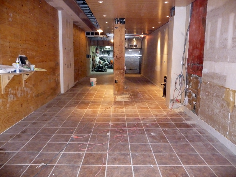 How To Install Ceramic Floor Tile Pouring Concrete   Apps Directories