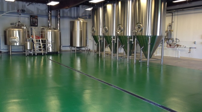 Brewery Floor System by Duraamen
