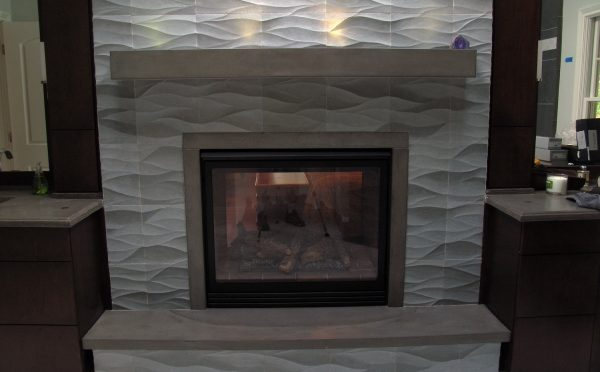Concrete Fireplace Surround JM Lifestyles