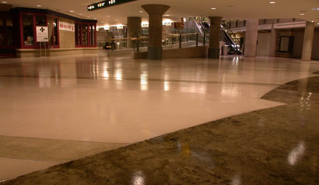 Airport Concrete Floor