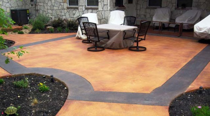 Characteristics of a Concrete Acid Stain