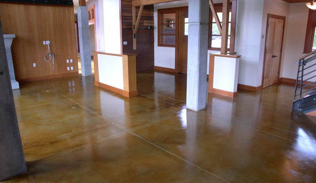 Concrete floors in Austin are a big hit