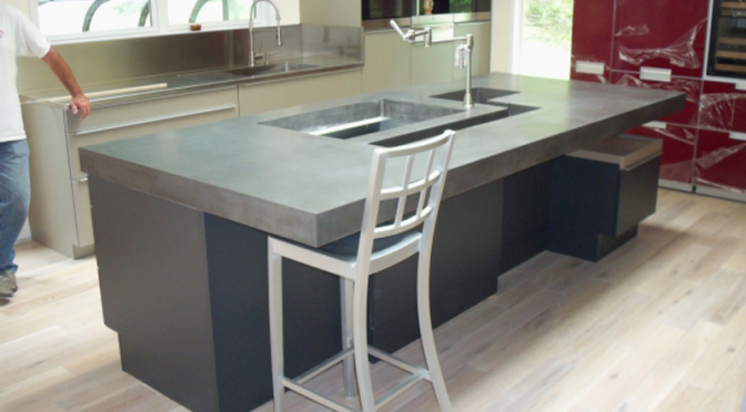Picking a great concrete countertop color