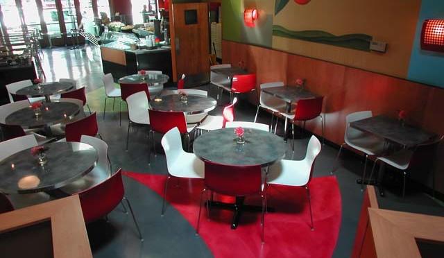 pagliacci pizza Floor
