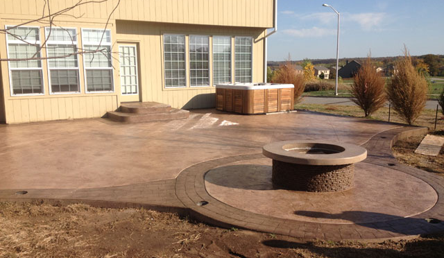 Flooring Evolutions Stamped Concrete
