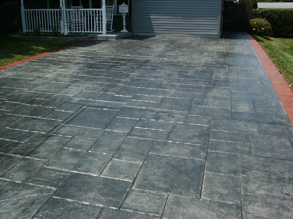 Stamped Concrete - ConcreteIDEAS