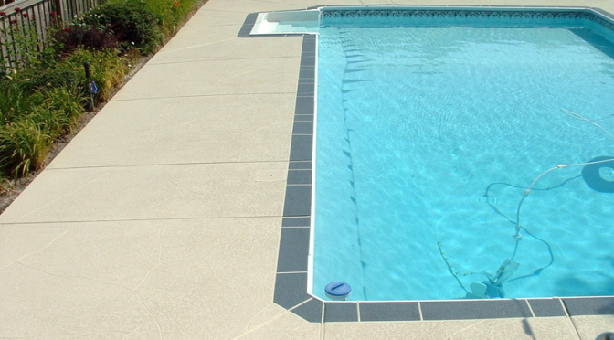 Why Concrete Resurfacing Makes Sense for Your Pool Deck