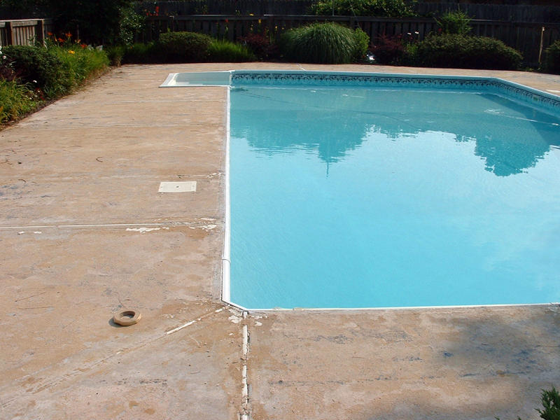 Why concrete resurfacing makes sense for your pool deck for Pool resurfacing