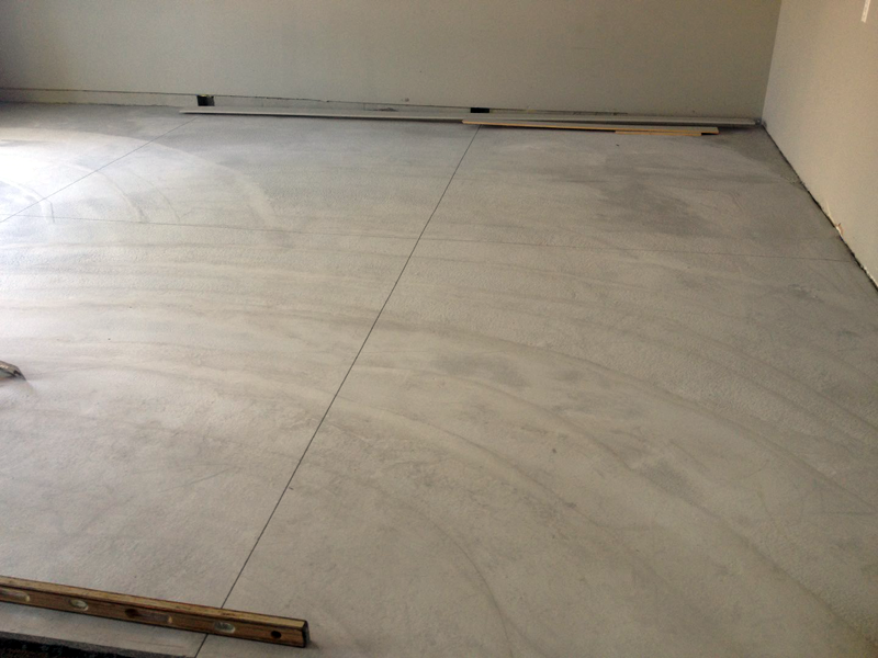Fixing A Poorly Sloped Concrete Floor For Drainage Concreteideas