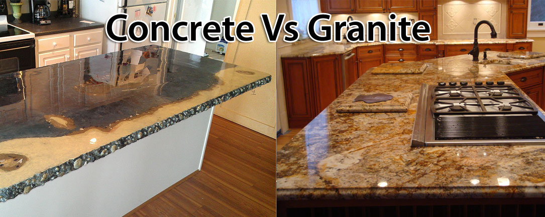Concrete Countertops Cost Vs Granite