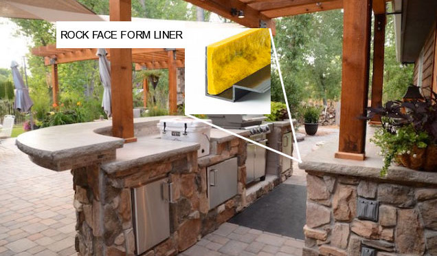 Construct Your Own Outdoor Kitchen with Concrete Countertop ...