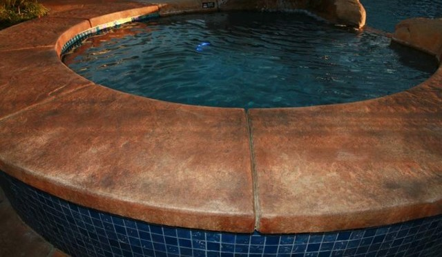 Repairing Swimming Pool Concrete Coping Concreteideas