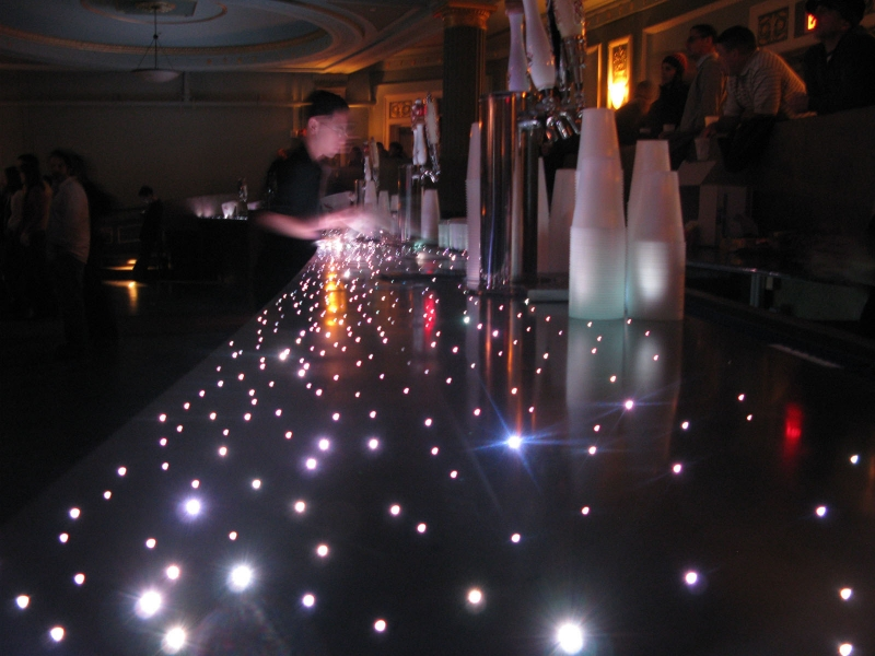 Concrete Design And Fiber Optics Create One Of A Kind