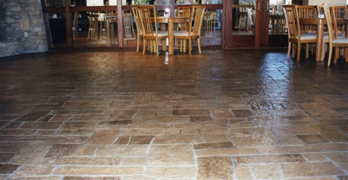 Is Stamped Concrete A Viable Options For Commercial Restaurants Concreteideas