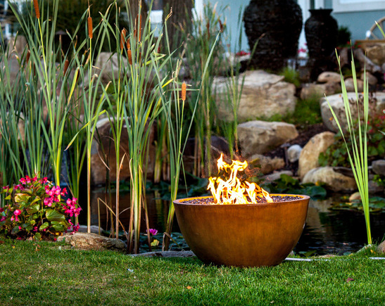 Concrete FirePit by JM Lifestyles, Randolph NJ