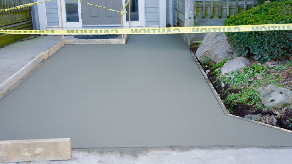 How to pour new concrete over old concrete